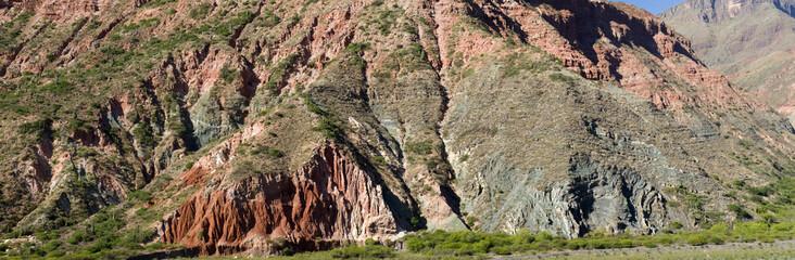 Seven colors hill. Purmamarca, Argentina