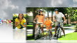 Montage 3D Images People Following Healthy Lifestyle