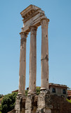 Roman Forum. Temple of Castor and Pollux
