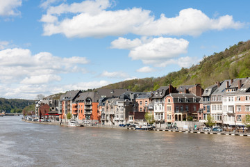 Dinant in the Belgium Ardennes on River Meuse