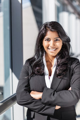 Asian Indian businesswoman