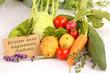 Gemüse aus eigenem Anbau ©yvonneweis
