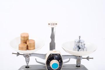 Tray balance