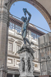 Perseus with the Head of Medusa in Florence, Italy poster