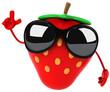 Fun strawberry