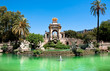 Leinwanddruck Bild - The Parc de la Ciutadella. Barcelona.
