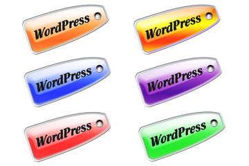 Etiqueta wordpress colores