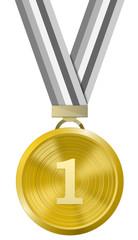Goldmedaille erster Platz