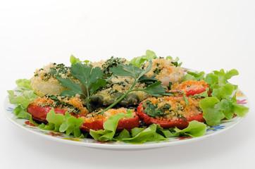pomodori.e.cipolle.gratinati