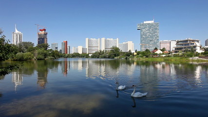 Vienna Donau City at the Kaiserwasser