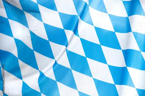 Leinwandbild Motiv bavarian flag