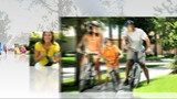 Montage 3D Images Sport Exercise Healthy Lifestyle