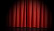 Vorhang Rot