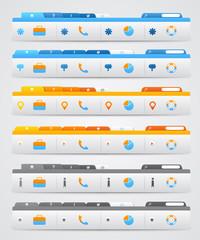 Navigation Menus for Website