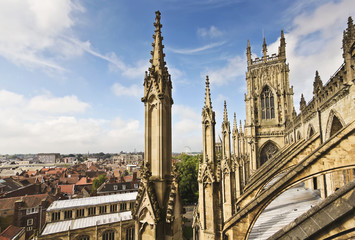 A View of York from York Minster