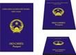 Viet-Nam vector passport