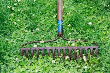 Metal Garden Rake