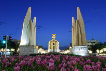 The Democracy Monument is a public monument in Thailand