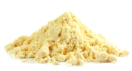 Gram flour made of chickpeas named as beshon