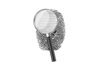 Magnify fingerprint binary code