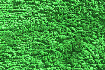 texture green granulates of packing
