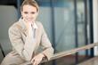 smart young businesswoman portrait