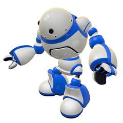 Software Security Robot Standing Vigilent