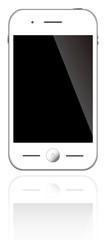 スマートフォン ホワイト