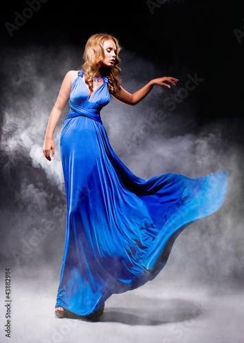 Fototapeten,mädchen,schön,kleegras,gown