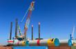 Offshore heavy lift vessel