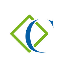 Logo initial letter C # Vector