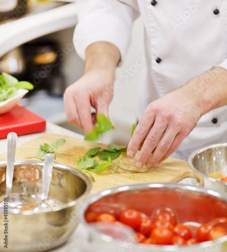 Papiers peints Cuisine chef at work