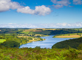 Wimbleball Lake Exmoor National Park Somerset England