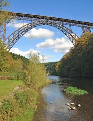 die Müngstener Brücke,Deutschlands höchste Eisenbahnbrücke