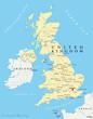 United Kingdom, Map (Vereinigtes Königreich, Karte)