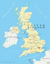 Великобритания, Карта (Великобритания карте)