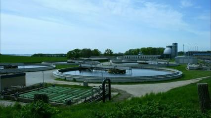 Sewage treatment plant - Klärwerk