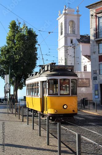 Poster Lisbon tram