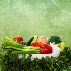 AMAZING VEGETABLES BACKGROUND