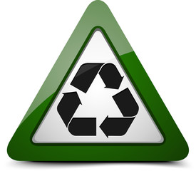 Reuse Triangle sign