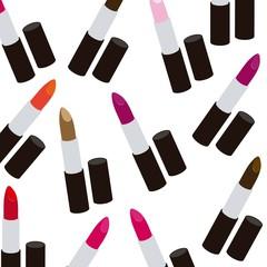Illustration of lipsticks