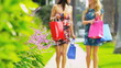 Beautiful Girls on a Shopping Day