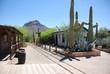 Wild West Film Set in Tucson, Arizona