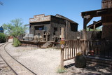 Wild West Film Set in Tucson, Arizona