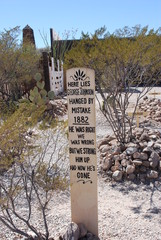 Boot Hill, Tombstone,