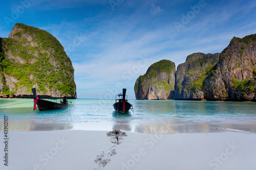 Fototapeten,boot,küste,coastline,korallen