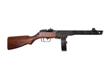 WWII period soviet submachine gun ppsh-41