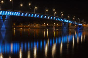 Rainbow bridge Novi sad, Serbia
