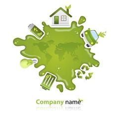 Company logo Eco