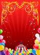Festive circus background